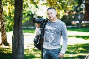 Видеограф на свадьбу в Новосибирске - Антон Понимаш
