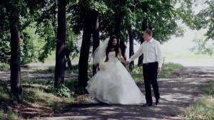 Свадебное видео Алёны и Дмитрия, Новосибирск
