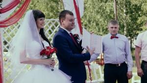 Свадебный клип Виталия и Анны, свадебное видео, Новосибирск